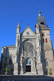 St Leonard Church, Fougeres Royalty Free Stock Photography