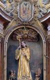 St Leonard de Noblac imágenes de archivo libres de regalías
