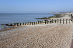 St leonards beach hastings sussex uk Royalty Free Stock Image