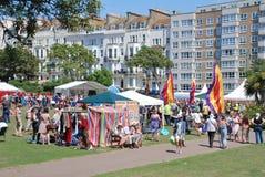 St Leonards festival, England Royaltyfri Bild