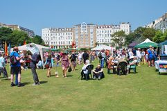 St.Leonards Festival, England Stock Photography