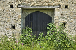 St Leonards Grange medieval tithe barn Royalty Free Stock Photo