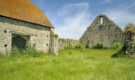 St Leonards Grange medieval tithe barn Stock Photos