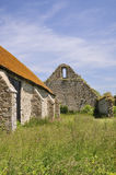 St Leonards Grange medieval tithe barn Stock Images
