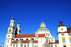 St. Lorenz Basilica Kempten Germany Stock Image