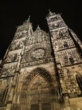St. Lorenz Cathedral. (Nuremberg, Germany Royalty Free Stock Photos