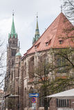 St. Lorenz Church In Nuremberg Royalty Free Stock Image