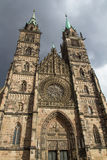 Church in Nuremberg Stock Photography