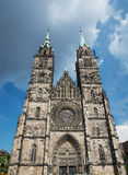 St. Lorenz church in Nuremberg Royalty Free Stock Photo