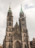 St. Lorenz Church in Nuremberg Royalty Free Stock Photography