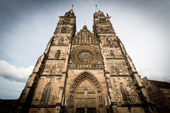 St. Lorenz church, Nuremberg Stock Photos
