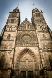 St. Lorenz church, Nuremberg, Germany Royalty Free Stock Photography