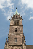 St. Lorenz church, Nuremberg, Germany Stock Photos
