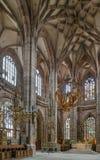St Lorenz, Nuremberg, Alemanha Fotos de Stock