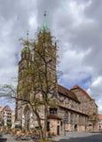 St Lorenz, Nuremberg, Alemanha Fotografia de Stock