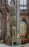 St Lorenz, Nuremberg, Alemanha Imagem de Stock