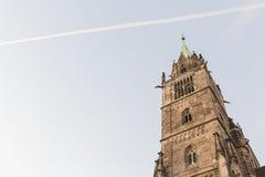 St. Lorenz in Nuremberg, Bavaria, Germany Stock Photos