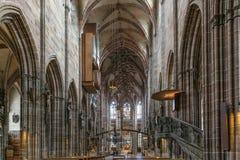 St Lorenz, Nuremberg, Tyskland royaltyfria bilder