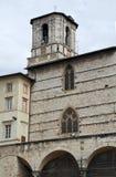 St. Lorenzo Cathedral. Perugia. Umbria. Stock Photography