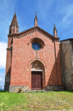 St. Lorenzo Church. Veano. Emilia-Romagna. Italy. Royalty Free Stock Photo