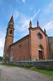 St. Lorenzo Church. Veano. Emilia-Romagna. Italy. Stock Photography