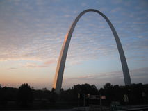 St Louis arch Royalty Free Stock Image