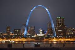 St. Louis Arch royaltyfria foton