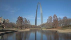 St. Louis Arch Gateway Park stock footage
