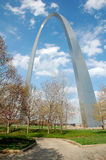St. Louis Arch in Missouri Royalty Free Stock Photos