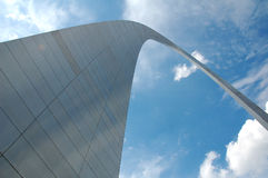 St. Louis Arch in Missouri Stock Photos