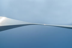 St Louis, architecture, and famous arch, Missouri,USA. Royalty Free Stock Photography