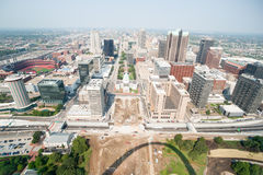 St Louis, architecture, and famous arch, Missouri,USA. Stock Photography