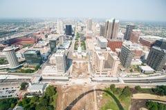 St Louis, architektura i sławny łuk, Missouri, usa fotografia stock