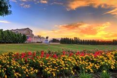 St Louis Art Museum i Forest Park royaltyfri foto