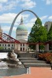 St. Louis - Bogen Lizenzfreies Stockbild
