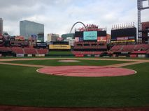 St Louis busch stadium Obrazy Stock