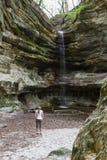 St. Louis Canyon waterfall Royalty Free Stock Photo