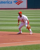 St. Louis Cardinal First Baseman Albert Pujols Royalty Free Stock Photos
