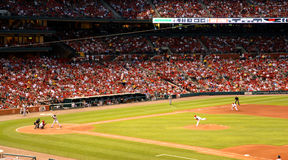St Louis Cardinals Busch Stadium Royalty Free Stock Photo
