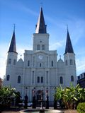 St louis cathedral royalty free stock photography