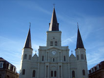 St louis cathedral royalty free stock photos