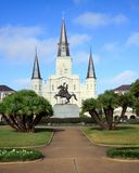 St. Louis Cathedral Royalty Free Stock Photography