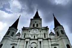 St Louis Cathedral royalty free stock images