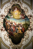 St. Louis Cathedral Ceiling Art. 6-27-2007 New Orleans - St. Louis Cathedral Ceiling Art royalty free stock image
