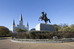 St. Louis Cathedral in city New Orleans Stock Images