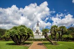 St Louis Cathedral dans le quartier français, la Nouvelle-Orléans, Louisian Photographie stock libre de droits