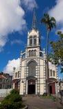 St Louis Cathedral, Fort de France, en la isla caribeña francesa de Martinica foto de archivo libre de regalías