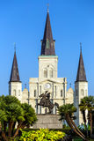 St. Louis Cathedral in the French Quarter, New Orleans, Louisian Stock Images