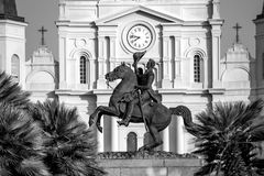 St. Louis Cathedral in the French Quarter, New Orleans, Louisian. A royalty free stock photos