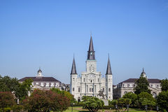 The St. Louis Cathedral Royalty Free Stock Photos